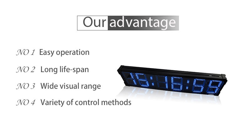 [Ganxin]8 Inch 6 Digits Waterproof Large Screen Double Side Iron Frame Led Race Timer with Air Case