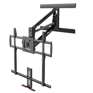 Nuovo molla A Gas mensola del camino led lcd tv wall mount per grande tv
