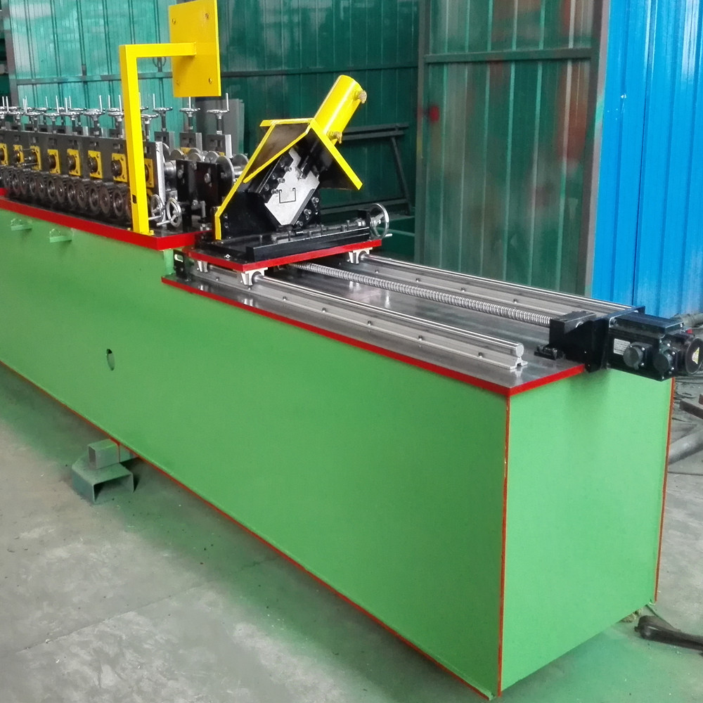 Unistrut Type Slotted Steel Strut C Channel Forming Machine