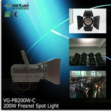 Dongguan Beinuo HIGH CRI 93 LED PROJECTOR FRESNEL SPOT LIGHT 200W with A Discount