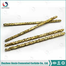 Tungsten carbide coated brazing filler rods