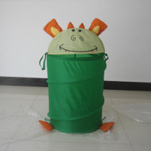 cartoon printing folding laundry basket animal shape laundry hamper