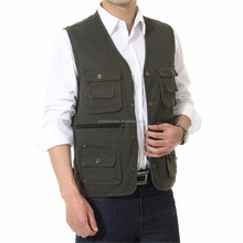 High Quality Newest Jacket Outdoor Professional Photography Multi-pocket Vest Fishing Vest