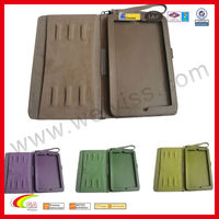 Leather tablet holder various color PU leather cover for ipad air case