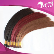 High Quality Brazilian Hair I Tip Extensions,AAAAA Pre Bonded Human Hair Extension