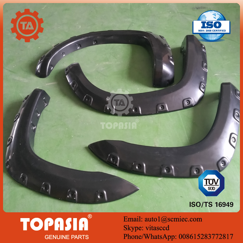 TOPASIA 4X4 off-road fender flares and used for TOYOTA TACOMA 2005-2012