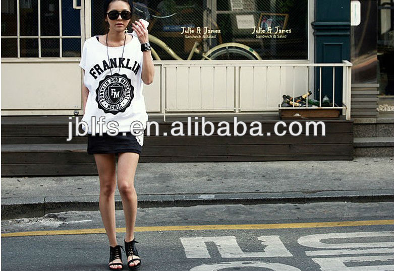 2013 Fashion women casual suit summer cotton twinset short skirt sports wear sets