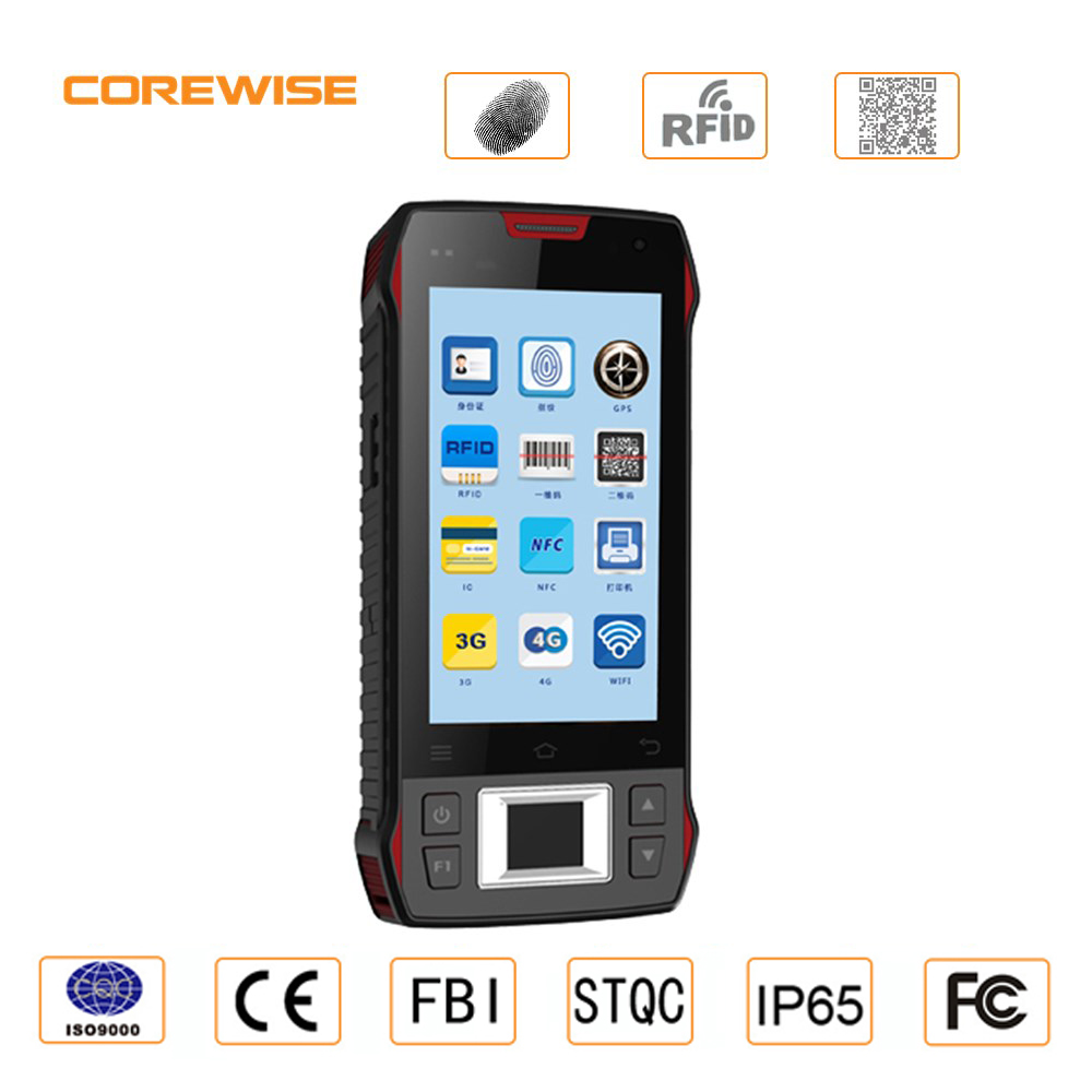 Mobile handheld terminal mini usb 2.0 biometric fingerprint