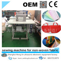 ultrasonic edge banding machine for non-woven fabric/welding machine for face masks