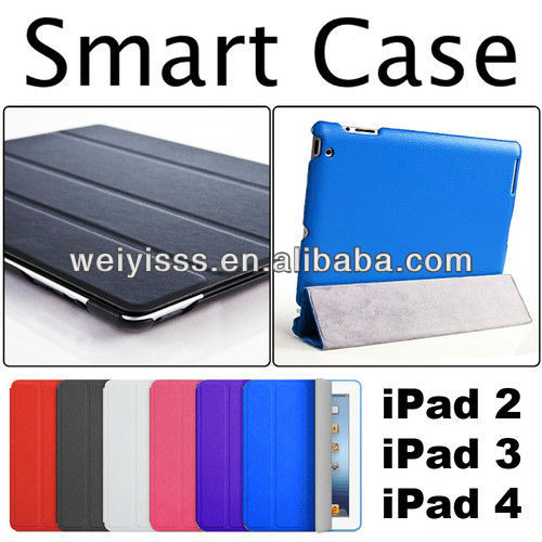 Magnetic Slim Leather Smart Cover Stand Case For iPad 2/3/4