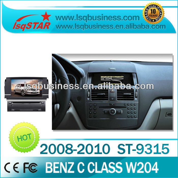 LSQ Star Android 4.0 Mercedes Benz C Class W204 Car Dvd With Gps Radio Rds Bluetooth Cd Dvd Dvd Mp3 Mp4 Ipod..hot Selling!