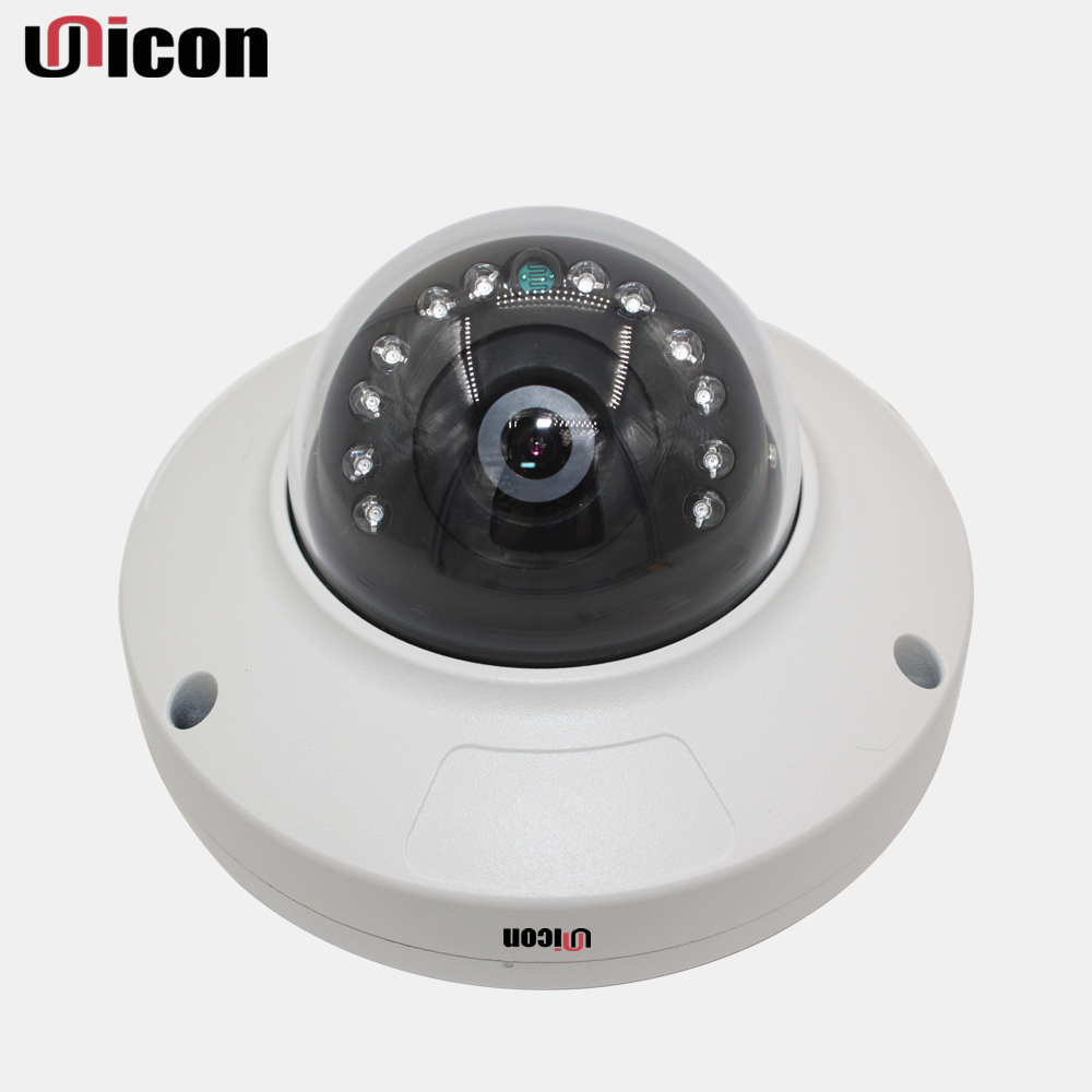 Unicon Vision h.264 vandalproof housing surveillance night vision hd 1080p ip cctv camera price list