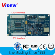 TTL to LVDS converter board for 8inch lcd panel