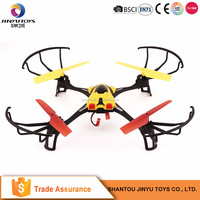 Flying plastic rc airplane toy rc quadcopter headless rc quadcopter with hd camera