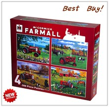 festival X'mas gift cartoon shape economical beautiful farm sliding puzzle for UK