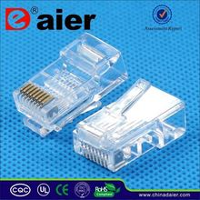 Daier shielded rj45 male connector