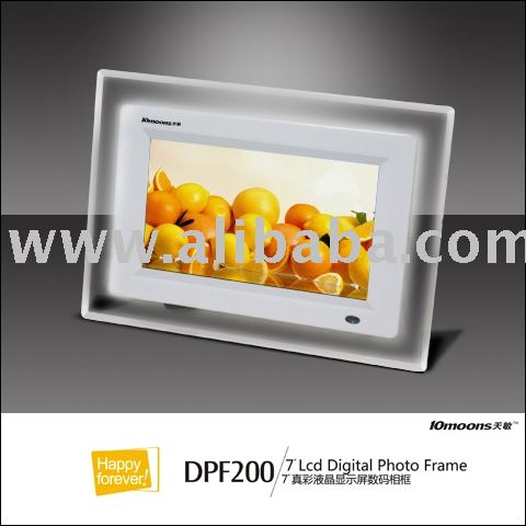 "10moons 7"" Digital Photo Frame"
