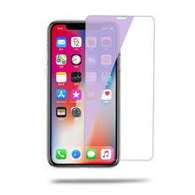 9H Hardness Anti Blue Light Tempered Glass Screen Protector For iPhone X