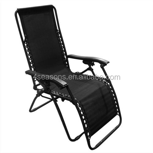 2016 New High quality Zero Gravity Chairs Case Of Black Lounge Patio Chairs Outdoor Yard Beach