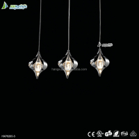 Home decorative metal pendant light kit with crystal HXP9265A-3