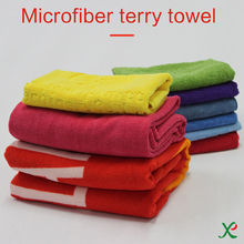 OEM Custom Promotion High Quality Hot Sale Microfiber terry towel