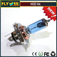 Flydee H4 6000K 100W HOD Headlight Halogen Headlamp Bulb for Car