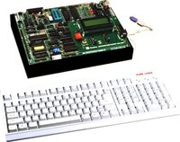 8085 ADVANCED MICROPROCESSOR TRAINING KIT WITH LCD DISPLAY, ADC, DAC, EPROM PROGRAMMER AND & IN-BUILT POWER SUPPLY