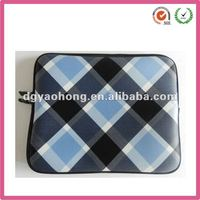 2013 fashion sublimation neoprene laptop case with zipper (factory)