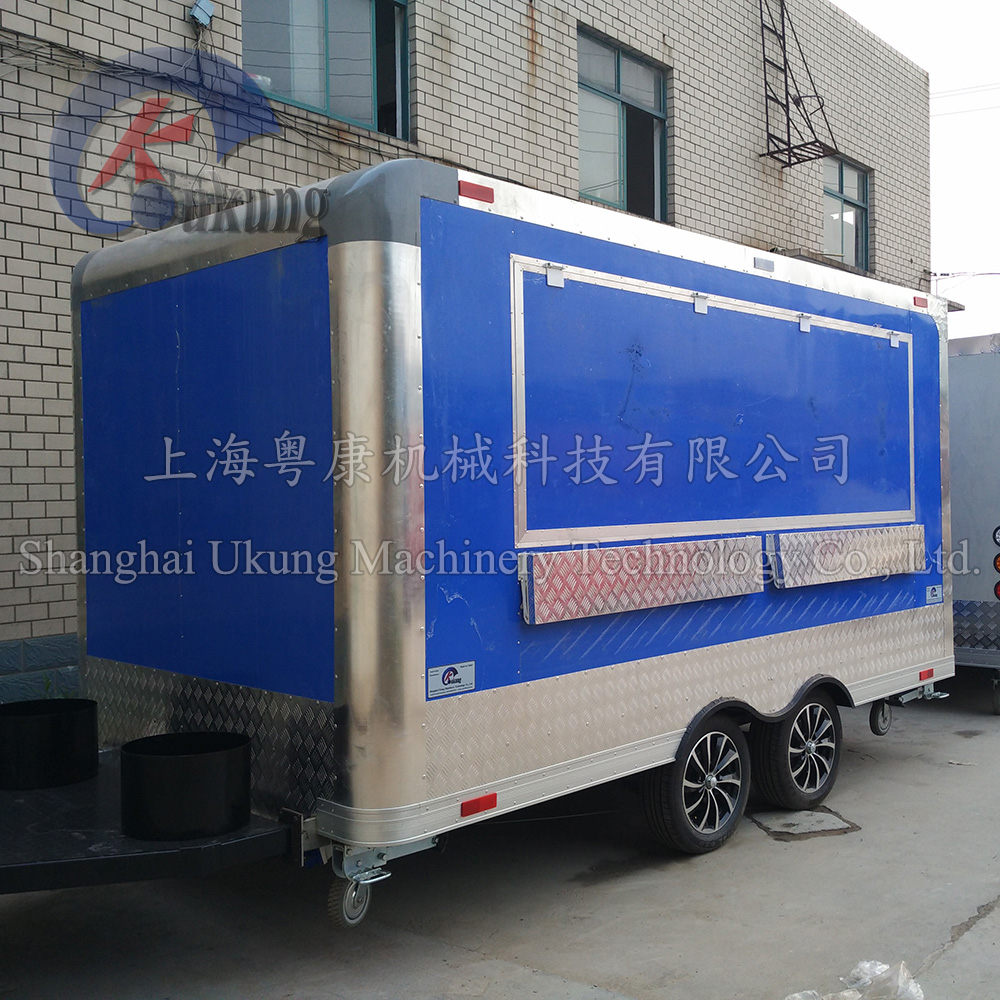 Food Vending Trailer Cars For Sale Mobile Restaurant Trailer/fast Snack Trailer/fast Food Carts Selling Food Truck For Sale