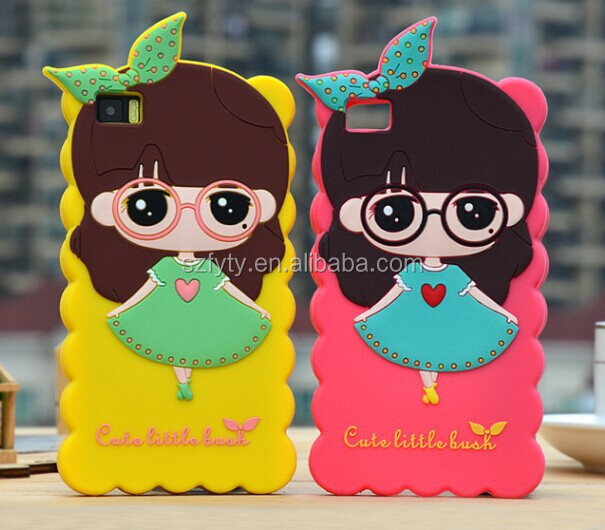 3D silicone cellphone case for xiaomi M3