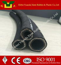 SAE 100 R2 ISO & API certified Braid steel wire reinforced rubber hose pipe / low price hydraulic hose