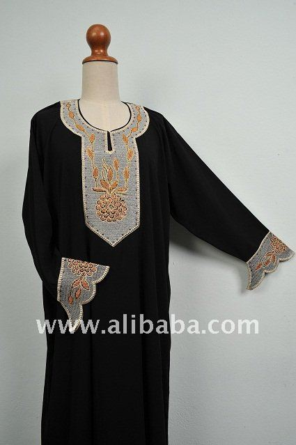 Thailand High Quality Islamic Clothing Nice Abaya