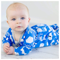 wholesale soft organic cotton winter 2 year old baby rompers