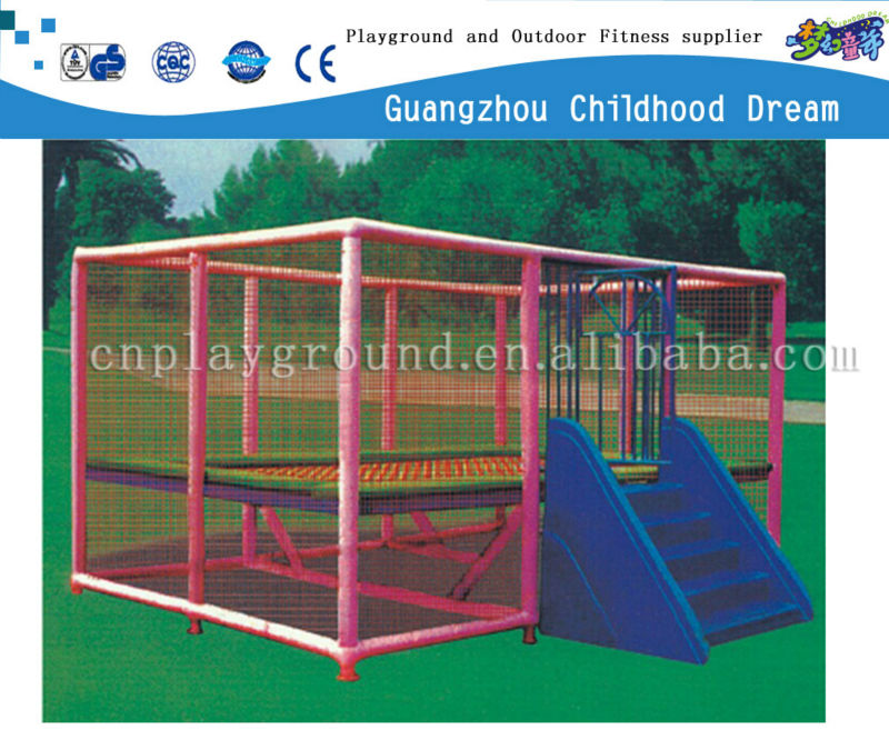 (HD-15006)Made in China classical rectangle trampoline