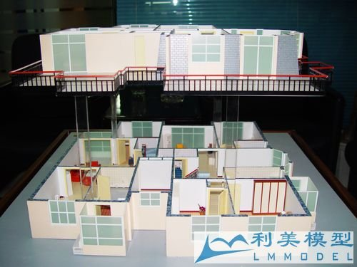 scale model making Beautiful 3D building model making /house& home layout model making