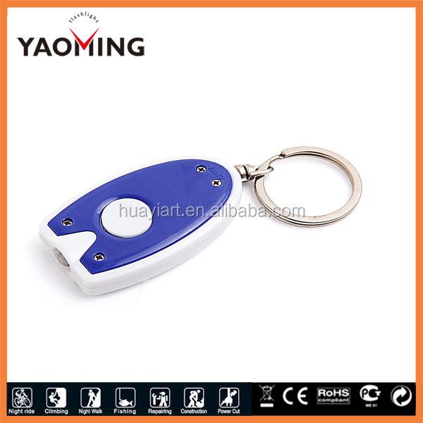 Best selling mini squared aluminum keychain flashlight,promotional led flashlight