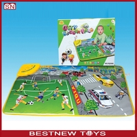 New product softextile kid plastic play mat for children