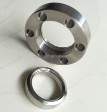 Vacuum Sanitary CF NW ISO kf jis welding neck exhaust pipe flanges Rotatable Tapped Bolt Holes Bored flange