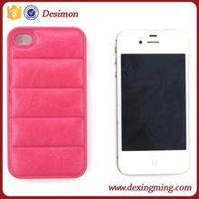 Desimon Fashion premium Leather Sofas Back Plastic Frame Hard Case Cover for iphone5 5s 4 4s