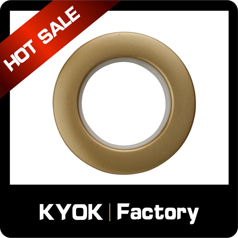 KYOK 19/22mm diameter poles wholesale,silver finish metal curtain rings,curtain bracket/curtain rings accessory