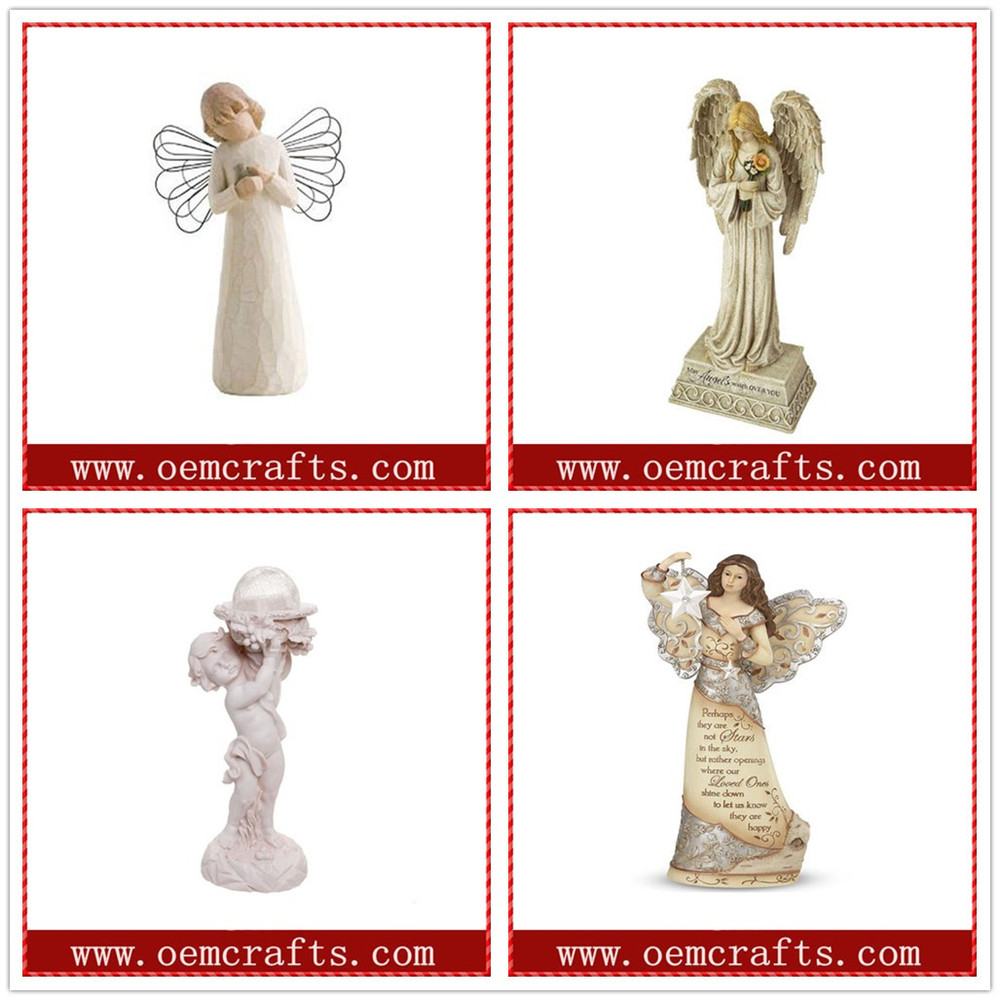 Mini Resin Cross Wholesale Resin Angel Religious Craft