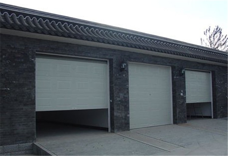 electric commercial garage door/ garage rolling up door