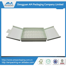 High Quality Cheap Print Clear Plastic Paper Customized Macaron Box Wholesale in Dongguan