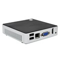 Fanless Multi-threaded mini pc customized windows10 Intel Atom Z3735F