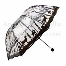 wholesale cheap custom clear fold up umbrella ladys rain bubble umbrellas for sale