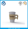 Custom Hot Coffee Paper Cup Sleeve with Handle