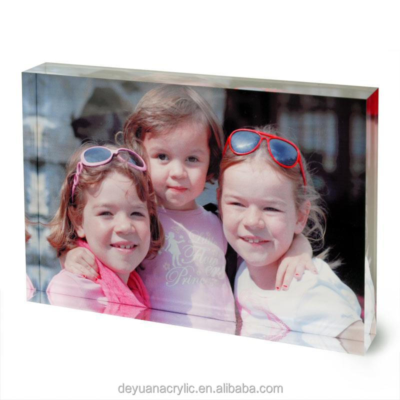 Hot sale acrylic open hot sexy girl photo or photo picture frame/crystal photo frame