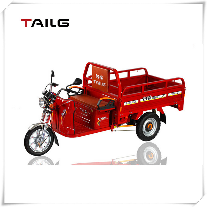 Factory direct selling stock available enclosed electric tricycle for cargo