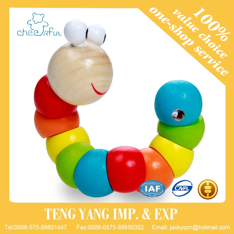 2016 New fashion 17*3.6cm Educational wooden toy for baby