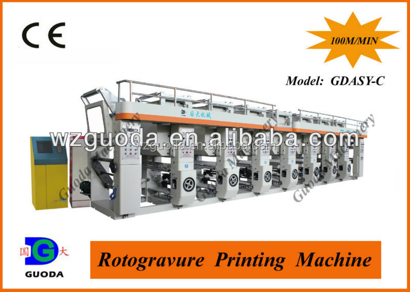 Professional Supplier of Gravure Printing Machine Manufactures